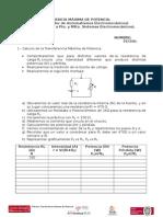 13.- Práctica Transferencia Máxima de Potencia