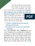 Smart 199 Vinaphone Gọi Và Nhắn Tin Miễn Phí Cho Tất Cả Các Mạng