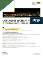 Destaques Legislativos Fevereiro Marco Abril 2015 2