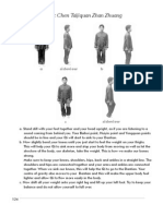 How to Do Basic Chen Taijiquan Zhan Zhuang
