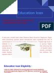 Education loan