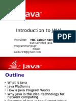 1 Java Intro