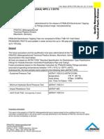 Test Report Astm f1055 Daa 4ix1 2c 10-12