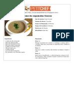 Receita Creme de cogumelos frescos - Petitchef.pdf