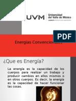 ENERGIAS CONVENCIONALES
