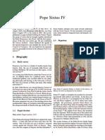 Pope Sixtus IV