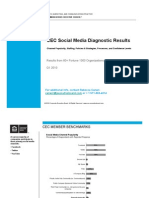 CEC Social Media Diagnostic Benchmarks