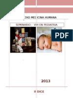 Seminario - Pediatria II- Vih- Grupo F- Bloque 2