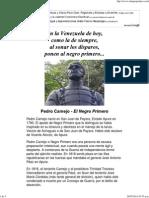 Pedro Camejo - El Negro Primero