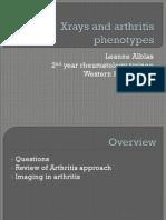 Xryas and Arthritis Phenotypes
