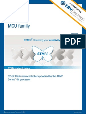 Stm32 Mcu Family   Embedded System   Microcontroller