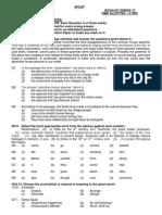 AFCAT Question Paper Series C