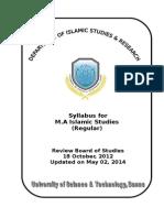 Master Islamic Studies Regular Semester wise.doc