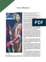 Carlo I Malatesta, wikia