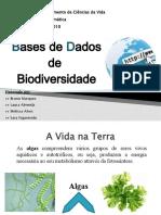 Departamento de Ciências Da Vida Bioinformática 2009/2010