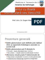 1 Boala Glomerulara Sau Vasculita an 4 nefrologie
