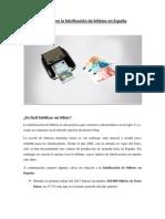Cifras sobre la falsificación de billetes en España