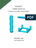 Wamit Manual