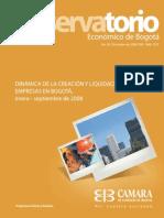 Observatorio Economico de Bogota No 30