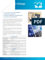 Solar Panel Voltage Regulator - Sutron Corporation