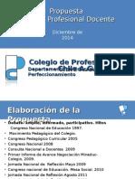 Propuesta Colegio de Profesores Carrera - Jornada