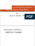 ABELLA,JASMIN-Relationship of Nursing Service and Nursing Education