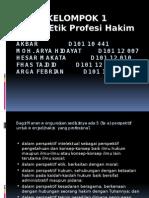 Etika Hakim