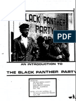 55753783 Introduction to Black Panther Party