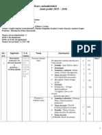 Planificare Calendaristic-â IX Profesionala
