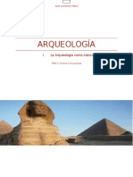 La Arqueología como ciencia