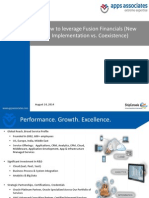 Fusion Financials