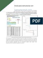 Método Matricial Para Estructuras Con EXCEL