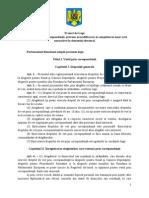 Legea Votu Legea votului prin corespondenta - 13 octombrie 2015 varianta Comisieilui Prin Corespondenta - 13 Octombrie 2015 Varianta Comisiei