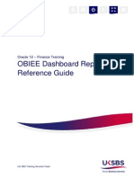 OBIEE Dashboard Reference Guide