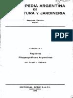 Regiones Fitogeográficas de Argentina