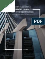 Demandas Laborales en El Sector Construccion - Distrito Nacional República Dominicana 2014-2015