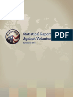 Peace Corps Statistical Report of Crimes Against Volunteers 2014