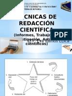 Técnicas de Redacción Científica Eva Ramos 2015