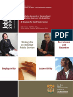 DPSA JobACCESS 2006-2010 Strategic Framework 09102006