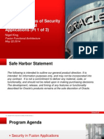 Security in Cloud Applications