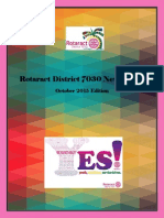 District Newsletter October 2015 (English)