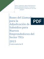 Bases Emprendedores FONSOFT 2015 C2