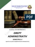 Dumitrescu+C.+Drept+administrativ
