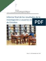 Informe Final de La Sala de Estudios-2014 GBPL