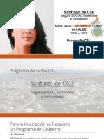 Programa de Gobierno Maria Isabel Larrarte Aico