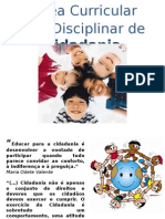Área Curricular Não Disciplinar de Cidadania