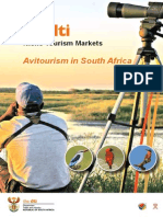 Avitourism in South Africa - Information Booklet