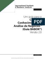 Guia BABOK 2.0 - Corpo de Conhecimento de Análise de Negócios.pdf