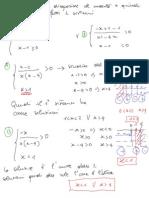 FILA B Verifica Equazioni e Disequazioni