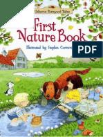 First Book Nature Usborne